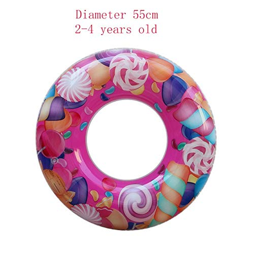 Inflatable Baby Swimming Ring Pool Float Swimming Circle Pool Toys Summer Floating Ring Seat Floating Beach Party (Best Msd Pool Float Babies)