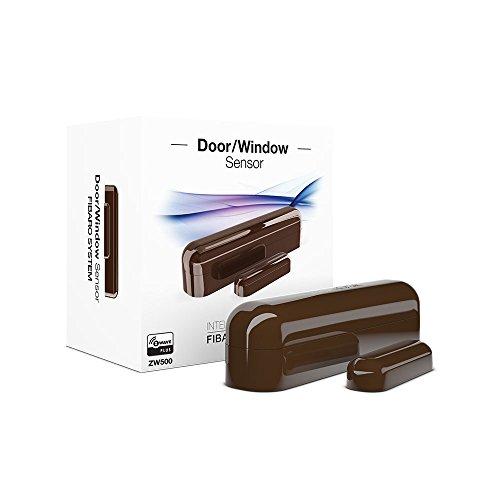 Z Wave Fibaro Z Wave Plus Door Window Sensor Dark Brown