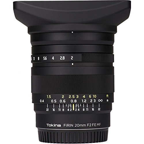 Price comparison product image Tokina FiRIN 20mm f / 2 FE MF Lens for Sony E