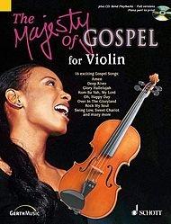 (Schott The Majesty of Gospel for Violin Book &)