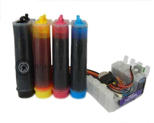 Epson Continuous Ink System for T127, T126 Cartridges Workforce 545, 645, 630, 633, 635, 845 Stylus NX625 CISS, CIS