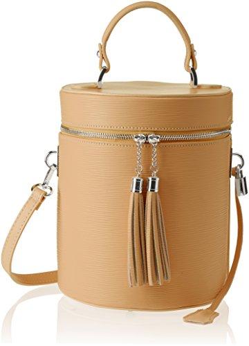 Chicca Borse 8638 - Shoulder Bag Woman Brown (tan Tan)