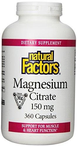 Природные факторы цитрат магния Capsule, 150 мг, 360 Граф