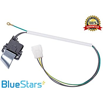 kenmore 80 series lid switch. ultra durable 3949238 washer lid switch replacement part by blue stars - exact fit for whirlpool kenmore 80 series h
