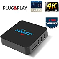 Puersit Q4 Android 5.1 TV BOX/HD Streaming Media Player with Wifi,H.265,1000M LAN