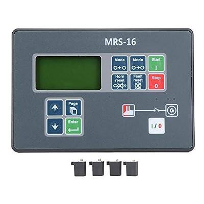 Genset Controller, MRS-16 Diesel Generator Self-Starting Control LCD Screen for Diesel Generator DC8-35V