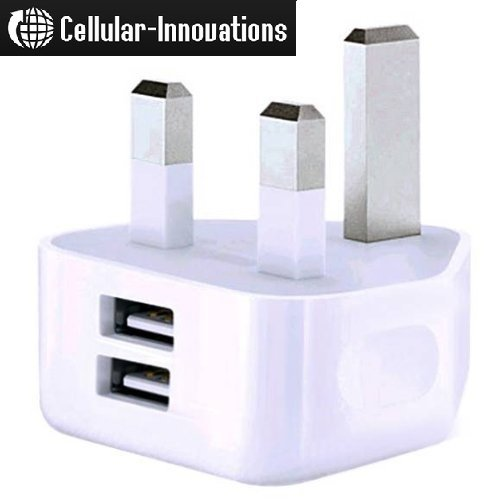 Cellular-Innovations 2.1-Amp Dual USB Port Wall Charger  for