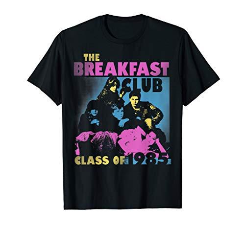 Breakfast Club Class Of '85 Stencil Portrait Graphic T-Shirt