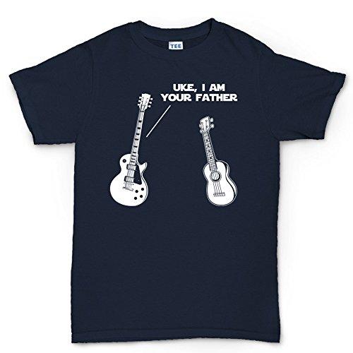 Customised_Perfection UKEYourFatherLesPaulGuitarTraditionalStandardT ShirtNBL L Navy Blue