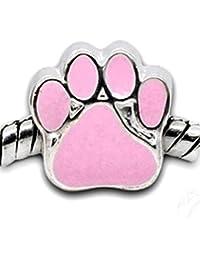 """Paw Footprint"" Charm Bead"
