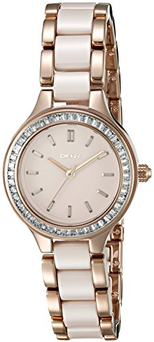 DKNY Women's NY2467 Chambers Stainless Steel Casual Watch