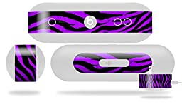 Purple Zebra Decal Style Skin - fits Beats Pill Plus (BEATS PILL NOT INCLUDED)