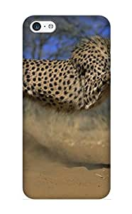 Charlesvenegas Design High Quality Animal Cheetah Cover Case With Ellent Style For Iphone 5c(nice Gift For Christmas)