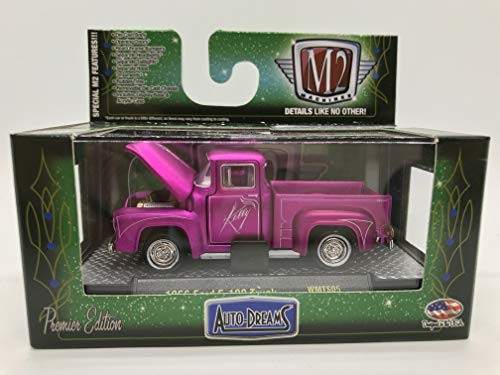 - M2 Machines Auto-Dreams 1956 Ford F-100 Truck Carzy Painter Tom Kelly Version WMTS05 16-03 Metallic Purple Details Like NO Other! Over 42 Parts