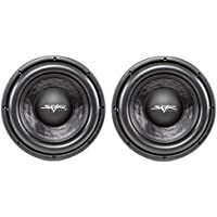 (2) Skar Audio DDX-10 D2 10 1500W Max Power Dual 2 Car Subwoofer