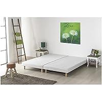 Finlandek sommier rakenne 2x80x200 cm - tapissier - 12 Lattes Fixes - 2 Personnes