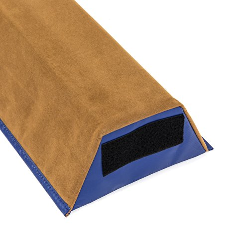 Best Choice Products (4ft) Gymnastics Sectional Floor Balance Beam w/ Velcro Attachments (Tan)