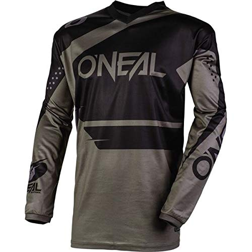 O'Neal Racing Element Wild Boy's Off-Road Motorcycle Jersey - Black/White/X-Large