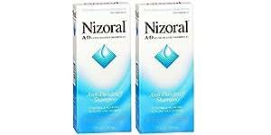 Nizoral A-D Anti-Dandruff Shampoo, 7 Ounce (Pack of 2)