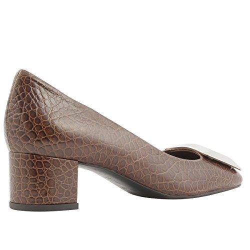 de Mujer Dorado Exclusif para Zapatos Paris Vestir a6x6wAvq