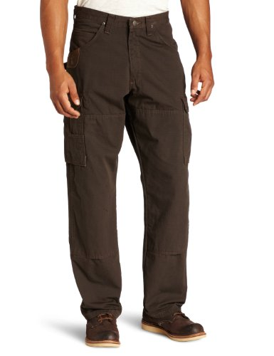 RIGGS WORKWEAR by Wrangler Men's Ranger Pant,Dark Brown,32x30 ()