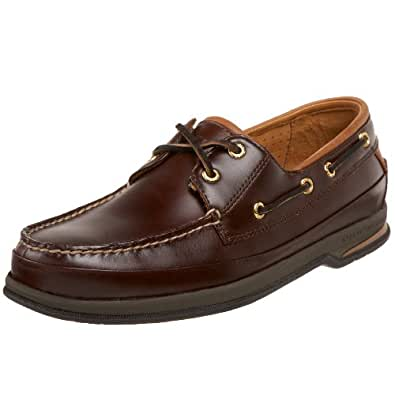 Sperry Top-Sider Men's Nautical Gold Cup 2-Eye Boat Shoe,Amaretto,11.5 S US