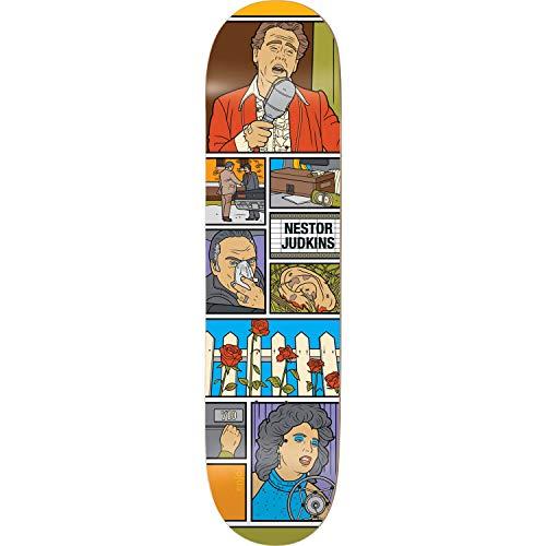責める被害者邪悪なEnjoi Skateboards Nestor Judkins Movie Nightスケートボードデッキ – 8.12インチx 31.7