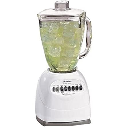 Oster Simple Blend 100 10-Speed Blender with Blend and Go Cup, Black 006706-BG3-000