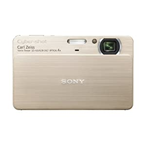 Sony Cybershot DSC-T700 10.1-MP Digital Camera with 4x Optical Zoom with Super Steady Shot Image Stabilization (Gold)