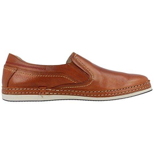 FLUCHOS Mocasines para hombre, color marr�n, marca, modelo Mocasines Para Hombre 50898M Marr�n