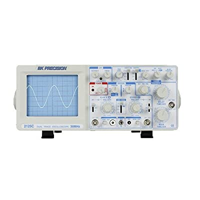 B&K Precision 2125C Analog Oscilloscope, Delayed Sweep, 30 MHz Bandwidth