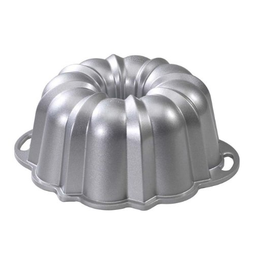 Nordic Ware Platinum Collection Nonstick Cast Aluminum Anniversary 12 Cup Bundt Pan - Aluminum Bundt
