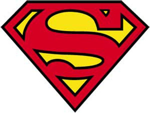 Licenses Products DC Comics Originals Superman Sticker (Superman Decal)