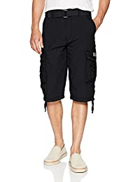 Men's Cordova Belted Messenger Cargo Short - Reg and Big and Tall Sizes