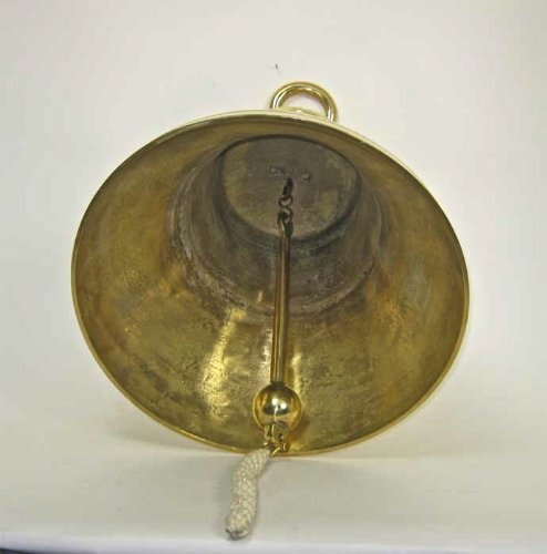 Solid Brass Bell 24'' - Huge - Polished Brass Finish NEW by 24'' bell (Image #2)