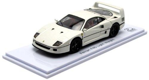 1/43 Ferrari F40 Light Weight(パールホワイト) 「フェラーリ コレクション」 KYOSHO 20th Anniversary Model 05042PW