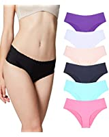 Misolin Underwear Women, Panties Hipster...