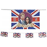 Toyland® Prince Harry & Meghan Markle Commemorative Royal Wedding 2018 Bunting