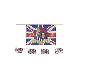 Toyland® Prince Harry & Meghan Markle Commemorative Royal Wedding 2018 Bunting