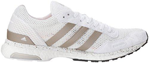 Adidas Originali Da Donna Adizero Adios Con Scarpa Da Corsa Ftwr Bianco, Cyber Met., Core Nero