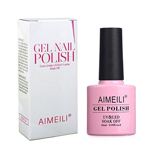Gel Nail Polish Qatar: AIMEILI Soak Off UV LED Gel Nail Polish Neon Glow In The