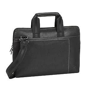 "RivaCase 8920 (PU) black slim Laptop bag 13.3"" / 6"