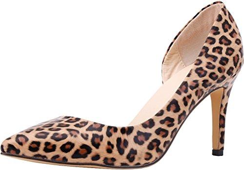 Femme 36 Compensées Nice EU Find léopard Sandales 5 AwpzW4tx