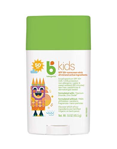 Babyganics Kids Sunscreen Spf 50 Stick, 0.58 Pound