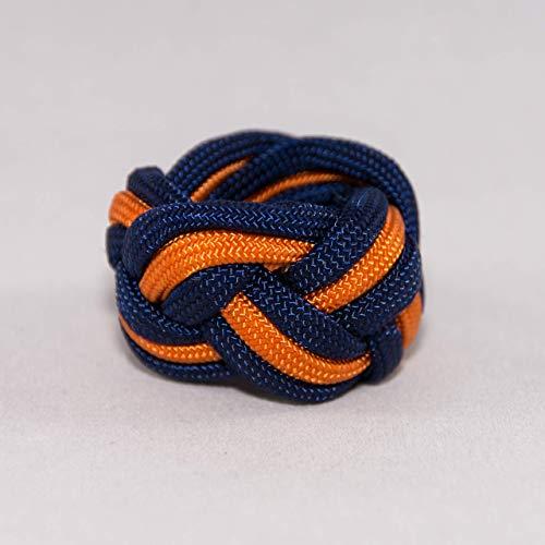 (Tiger Neckerchief Slide Woggle Cub Scout Turks Head Knot)