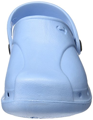 Suecos® Skoll, Zuecos de Trabajo Unisex Adulto Azul (Light Blue)