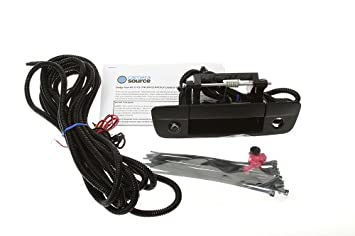 Camera Source CS-DTR Dodge Ram Backup Camera for Aftermarket NAV
