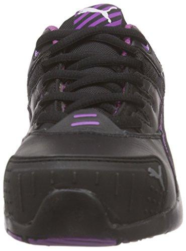 Puma Stepper Wns Low S2 HRO SRC, Puma - Zapatos De Seguridad de cuero mujer Negro