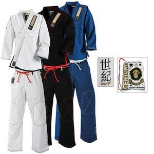 Century Spider Monkey Brazilian Jiu-Jitsu Uniform White s...