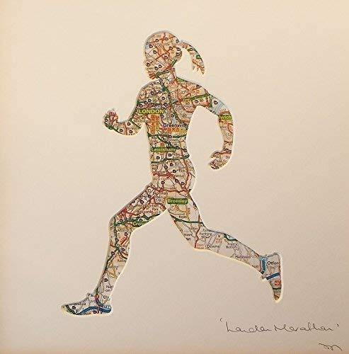 London Marathon Achievement Gift For Women